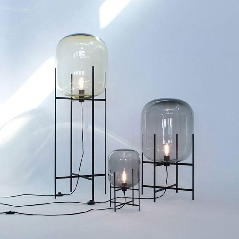 Kreative einfache stehlampen glas lampenschirm stehlampe Toolery ...