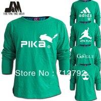 luminous long sleeve t shirt plus size 5xl men fashion designer aleatory logo tshirt o neck cotton autumn s xxxxxl