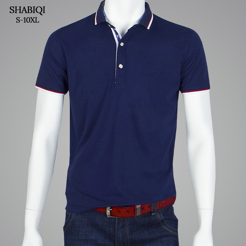 SHABIQI Classic Brand Men shirt Men   Polo   Shirt Men Short Sleeve   Polos   Shirt T Designer   Polo   Shirt Plus Size 6XL 7XL 8XL 9XL 10XL