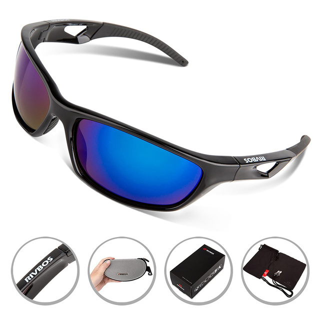 00134a1996 2017 New RIVBOS Polarized Sports Sunglasses Tr90 Unbreakable Frame Fishing  Cycling Running Glasses Eyewear Gafas Oculos Ciclismo