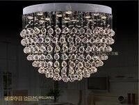 High Quality New Modern Crystal Ceiling Lights Luxury LED Crystal Light Fixtures D500MM D600MM D700MM D800MM