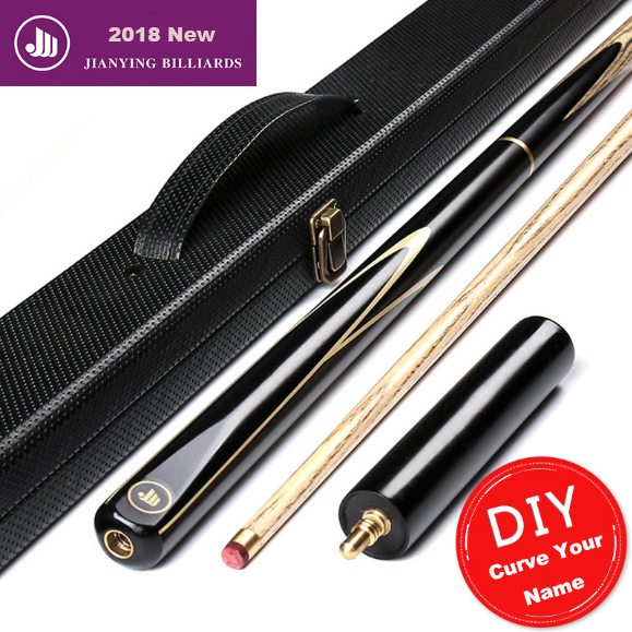 2018 New 3/4 Snooker Cue Good Handmade 10mm 11.5mm Tips Billiard Cue Kit Stick with Case with Extension Snooker Stick In China 2018 new snooker cue handmade 10mm tips billiard cue kit stick with case with extension snooker stick for professional players