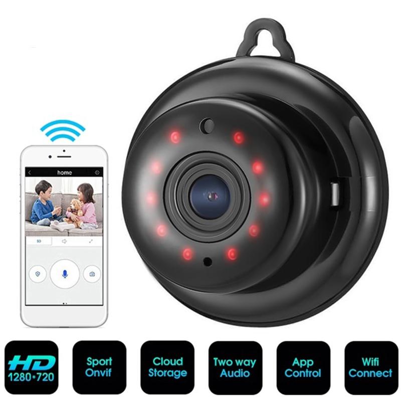 HD 720 720P WIFI の小型ワイヤレス IP カメラナイトビジョンミニビデオカメラキットホームセキュリティ Cctv カメラ -    グループ上の 家電製品 からの ミニビデオカメラ の中