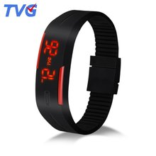TVG Korean tide male students watch authentic children watch girls movement waterproof lovers fashion digital watches
