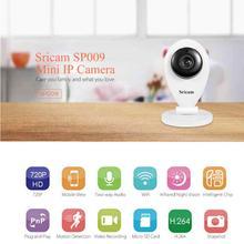 Sricam SP009 ИК Wi-Fi IP Камера сети Беспроводной 720 P HD Камера видеонаблюдения Камера дома видеоняня для детей