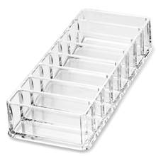 Acrylic Eyeshadow Organizer Lipstick Holder Cosmetic Storage Box Makeup Organizer Cosmetic Tool Sundries Display Box(China)