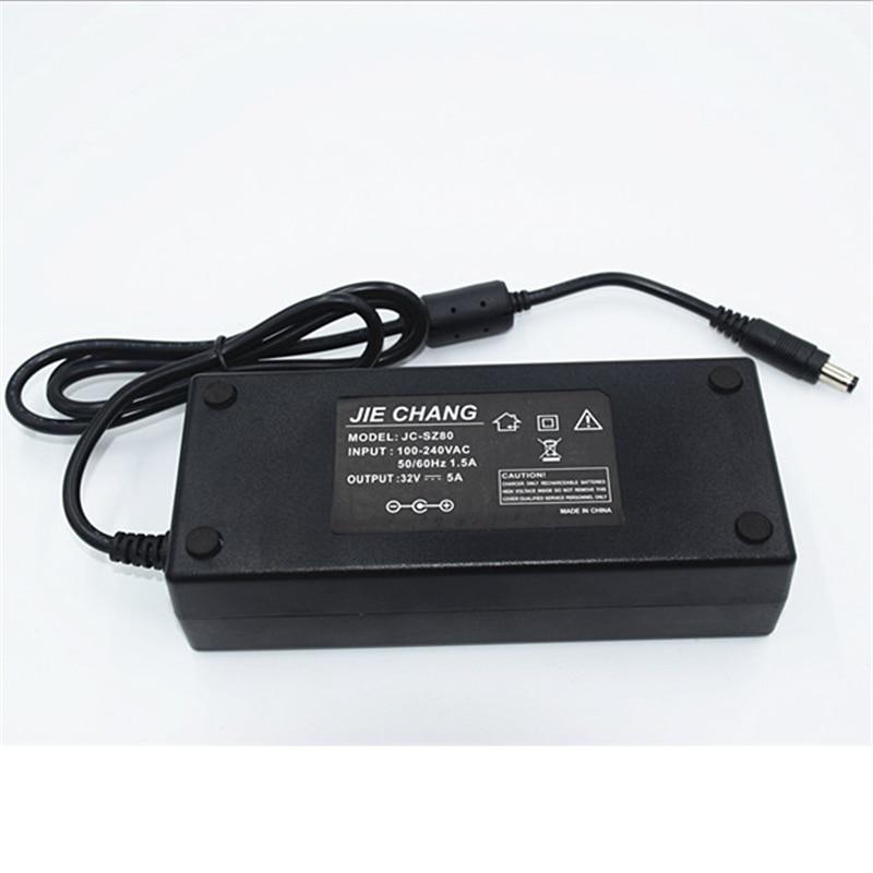 32VDC Driver ,160W 32V 5A AC/DC Power Adapter ,100-240Vac Input 5.5*2.5 /5.5*2.1 Dc Out Put Transformer ,32V Power Supply