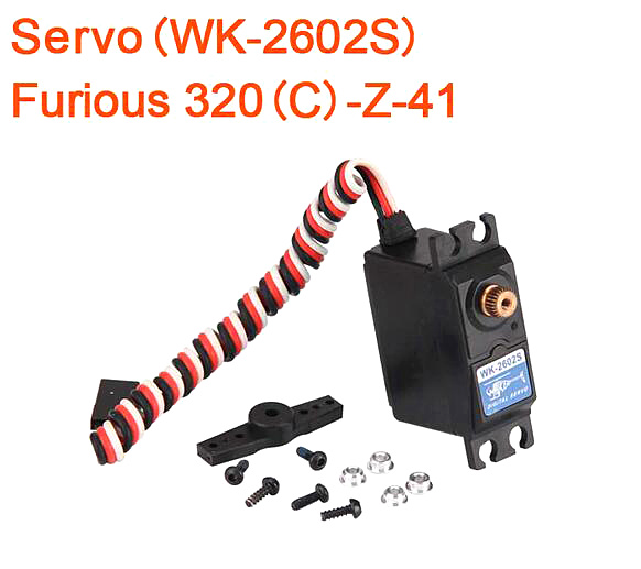 Walkera Furious 320 Spare Part Servo WK-2602S Furious 320(C)-Z-41 шлифкруг bosch 150мм k100 50шт best for wood 2 608 607 836