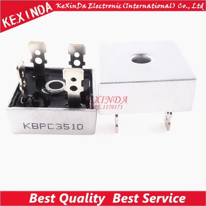 KBPC3510 35A1000V 50PCS 1Lot Free shipping