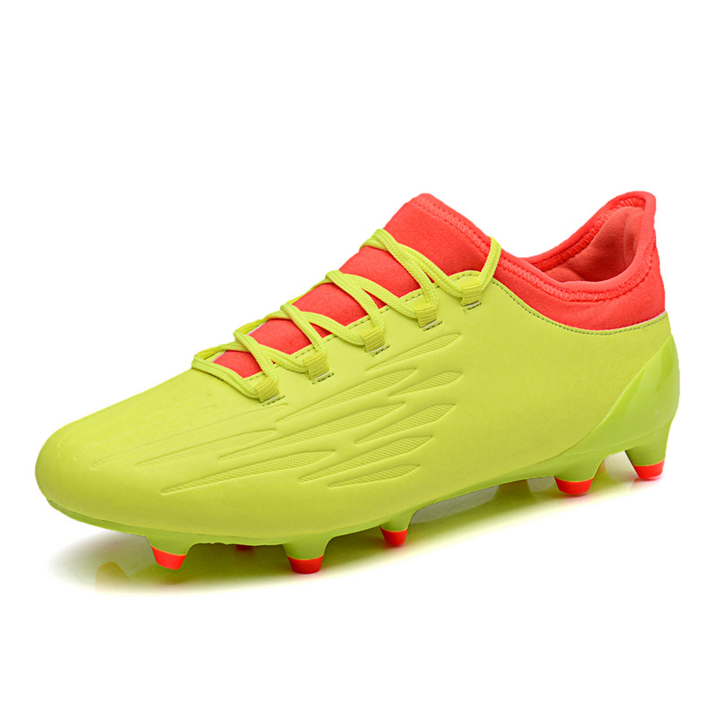 49b8c105f FEOZYZ 2017 New Firm Ground Football Boots Botas De Futbol Con Tobillera  Outdoor FG Soccer Cleats Waterproof Football Shoes-in Soccer Shoes from  Sports ...