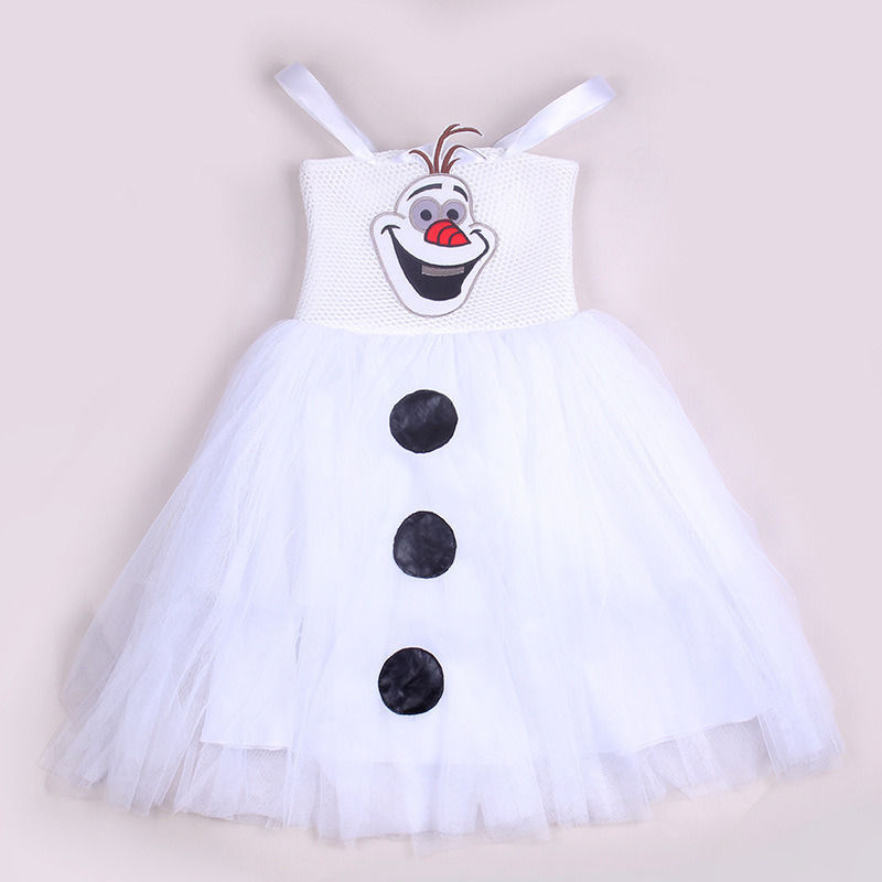 New White Baby Girls Lace Tulle Gown Tutu Xmas Party Dresses