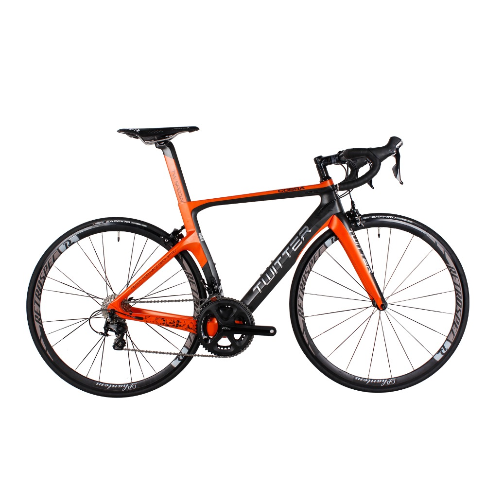 TWITTER Super Light 700C Aero Carbon Road Complete Bike Bicycle 22 ...
