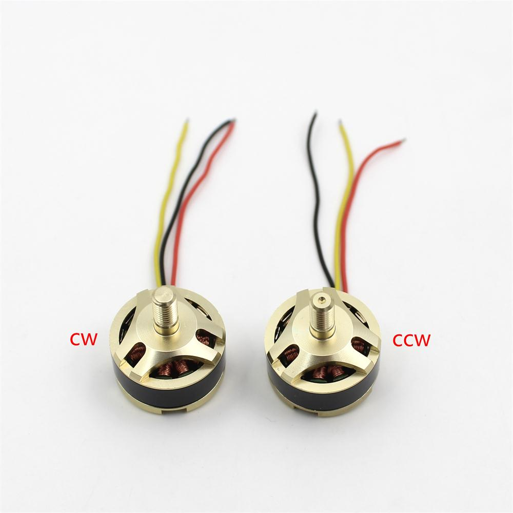 1 Pair CW CCW Brushless Motor 1650KV Replacement For Hubsan H501S RC Quadcopter