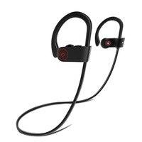 ALWUP Bluetooth Headphones IPX4 Waterproof Wireless Headphone Sports Bass Bluetooth Earphone With Mic For Phone IPhone