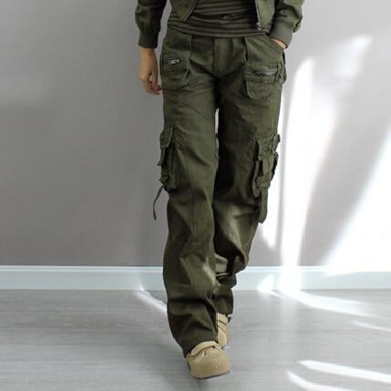Popular Women Army Fatigue Cargo Pants-Buy Cheap Women Army ...