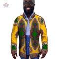 Африканской Печати Одежда Мужчины С Длинным Рукавом Мужская Блейзер Повседневные Куртки Пальто Блейзер Masculino Slim Fit Повседневный Стиль 6XL WYN239