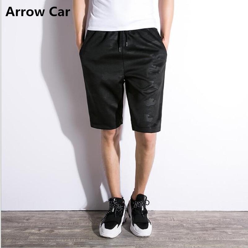 الصيف عارضة السراويل السوداء الرجال - ملابس رجالية