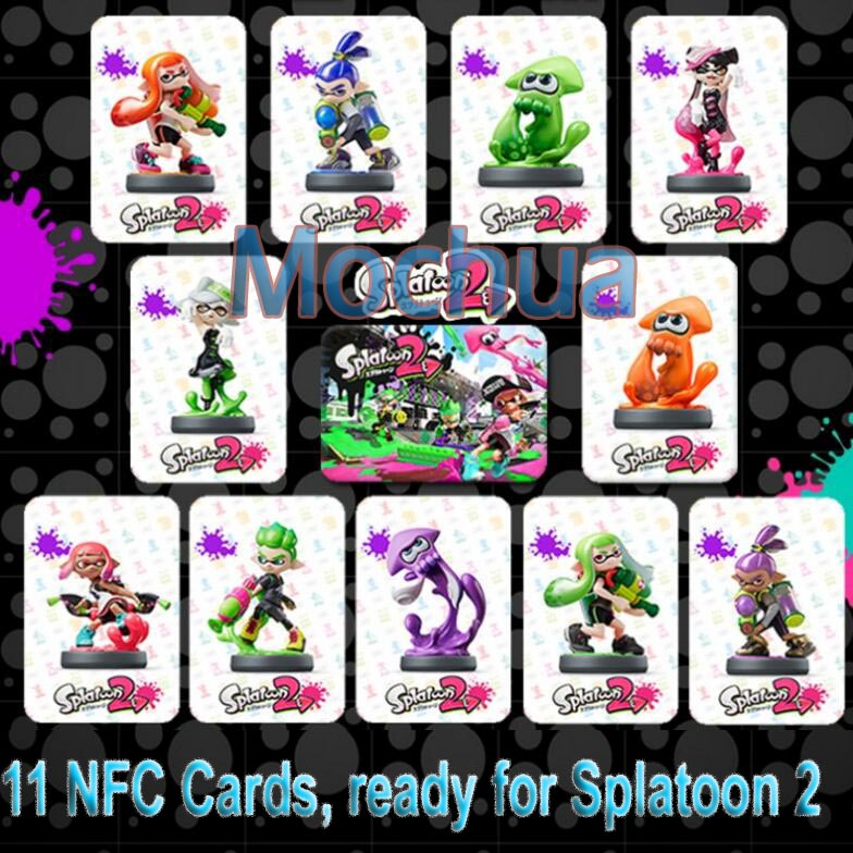 NTAG215 NFC NTAG215 Card Work For Splatoon 2 Written by Tagmo 11pcs Full Set