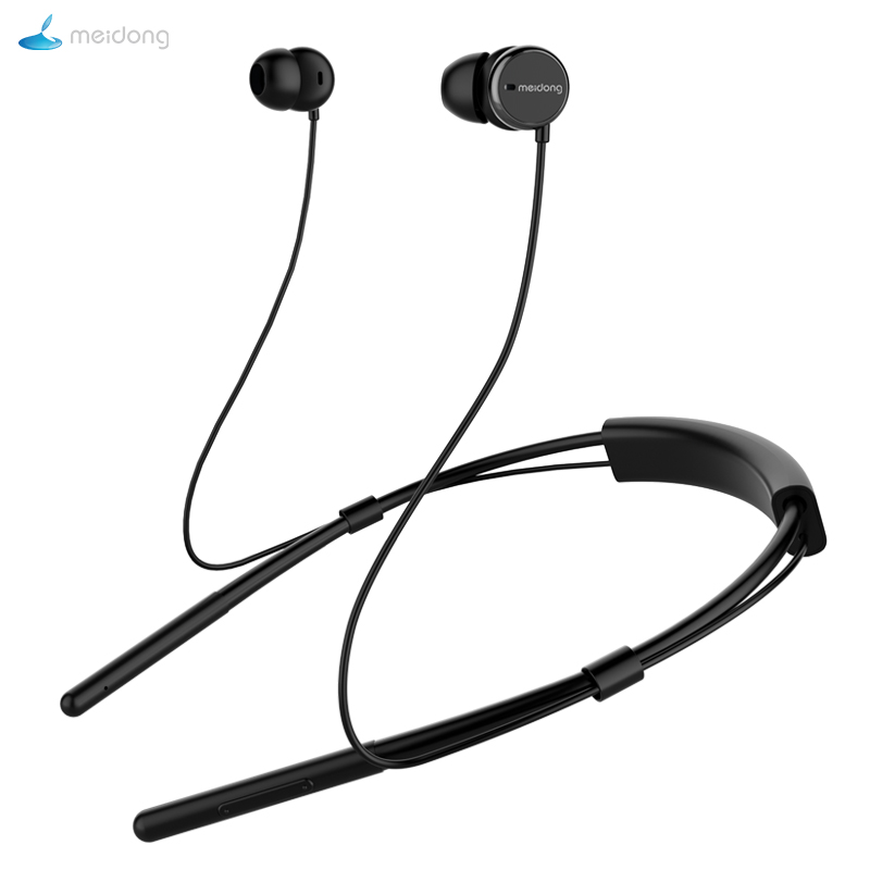 Meidong Bluetooth Headphones Wireless Earbuds: Aliexpress.com : Buy Meidong HE6 Neckband Bluetooth Earphone Active Noise Cancelling Headset