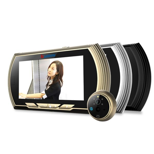 ФОТО 4.3 Inch 1.3MP HD Screen Video Door Phone Motion Detection Peephole Viewer