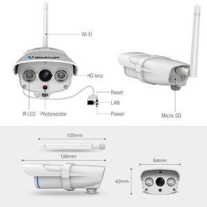 Image 5 - VStarcam C7816WIP Chống Nước IP Không Dây Hồng Ngoại Cắt Wifi Webcam Camera Quan Sát Ngoài Trời Giám Sát An Ninh Video Camera Nhìn Thấy TF