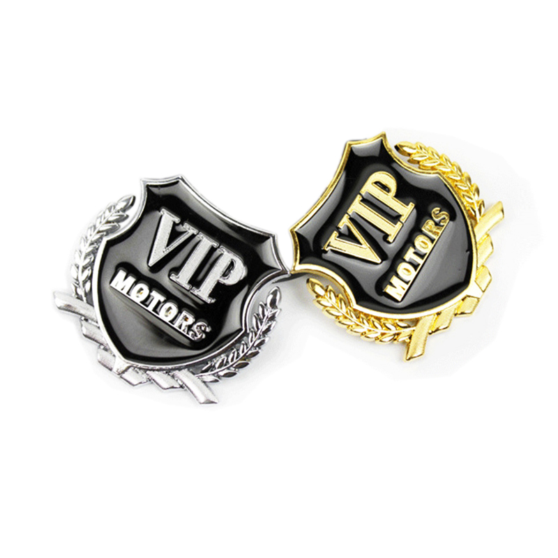 Image 5 - Car Styling VIP Car Metal Stickers For BMW Audi Opel VW KIA Hyundai Peugeot Ford Nissan Mazda Chevrolet Benz Accessories-in Car Stickers from Automobiles & Motorcycles