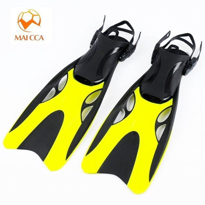 Professionnel Palmes De Plongée sous-marine adulte Réglable chaussures De Natation En Silicone longue Submersible Plongée Pied monofin Palmes De Plongée