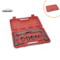 CARCHET Car Engine Cylinder Head Valve Spring Compressor Remove Install Tool Clamp Set ATVs Installer Removal Tool Motorcycle