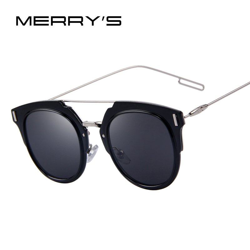 Rimless Glasses Plugs : ?MERRYS Fashion Women Cat Eye ? Sunglasses Sunglasses Men ...