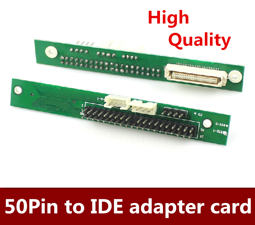 High Quality 5pcs/lot  Free Shipping  Notebook CD-ROM To IDE Adapter , 50Pin To IDE Adapter