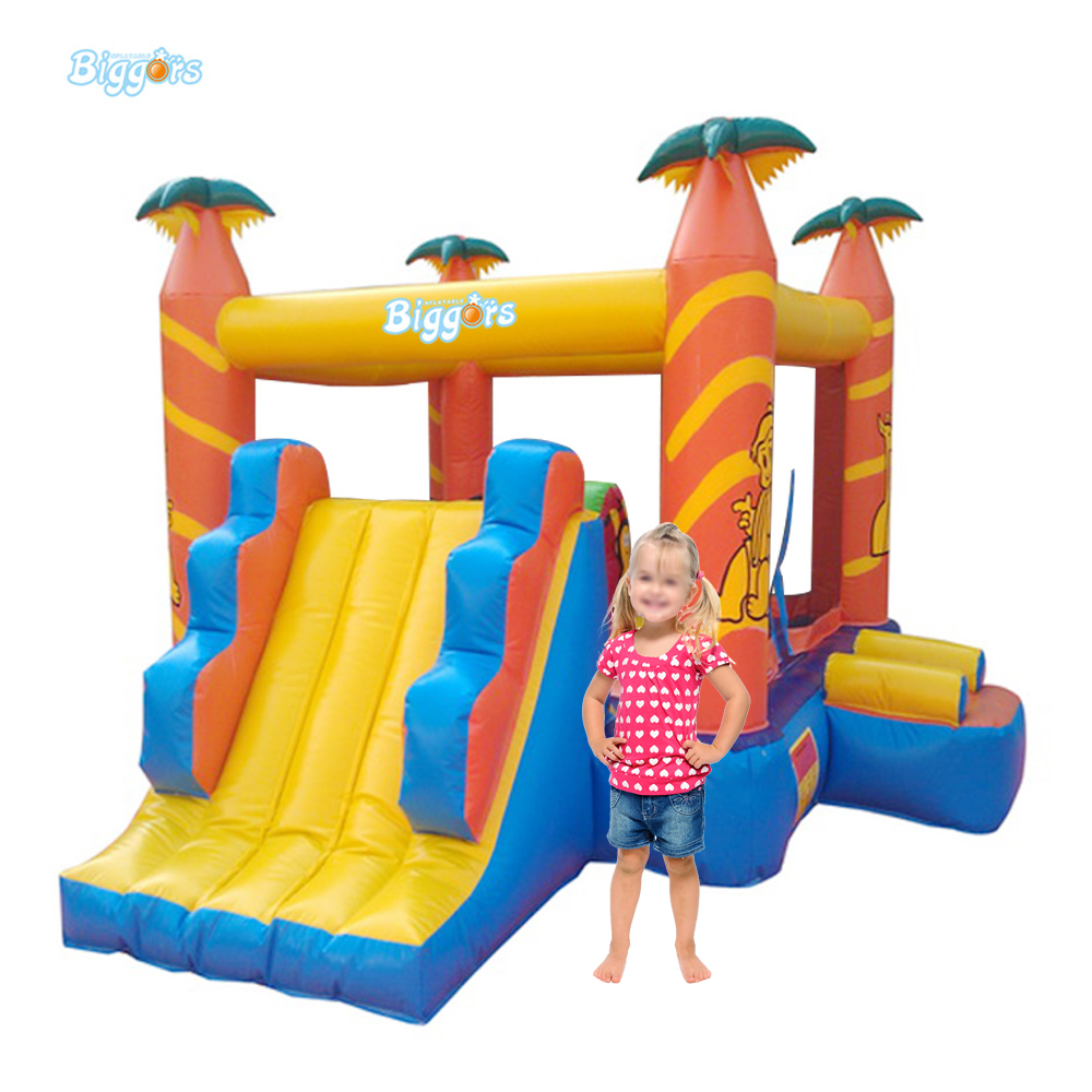 Custom Inflatable Play Land Bounce Castle Jumper Game for Kids funny summer inflatable water games inflatable bounce water slide with stairs and blowers