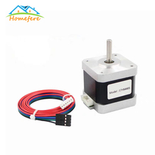 цена на Nema 17 Stepper Motor 38mm 42motor 1.8A 4 lead stepper motor for 3D Printer Printing CNC XYZ