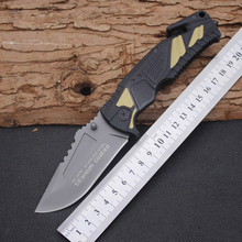 5CR13MOV Steel Blade Aviation aluminum Handle Folding Knife Survival Knifes Pocket Hunting Tactical Knives Camping Outdoor Tools