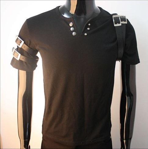 Livraison gratuite sur mesure nouveau MJ!! Michael Jackson BAD tour MTV chemise noire!! Toutes les tailles!!