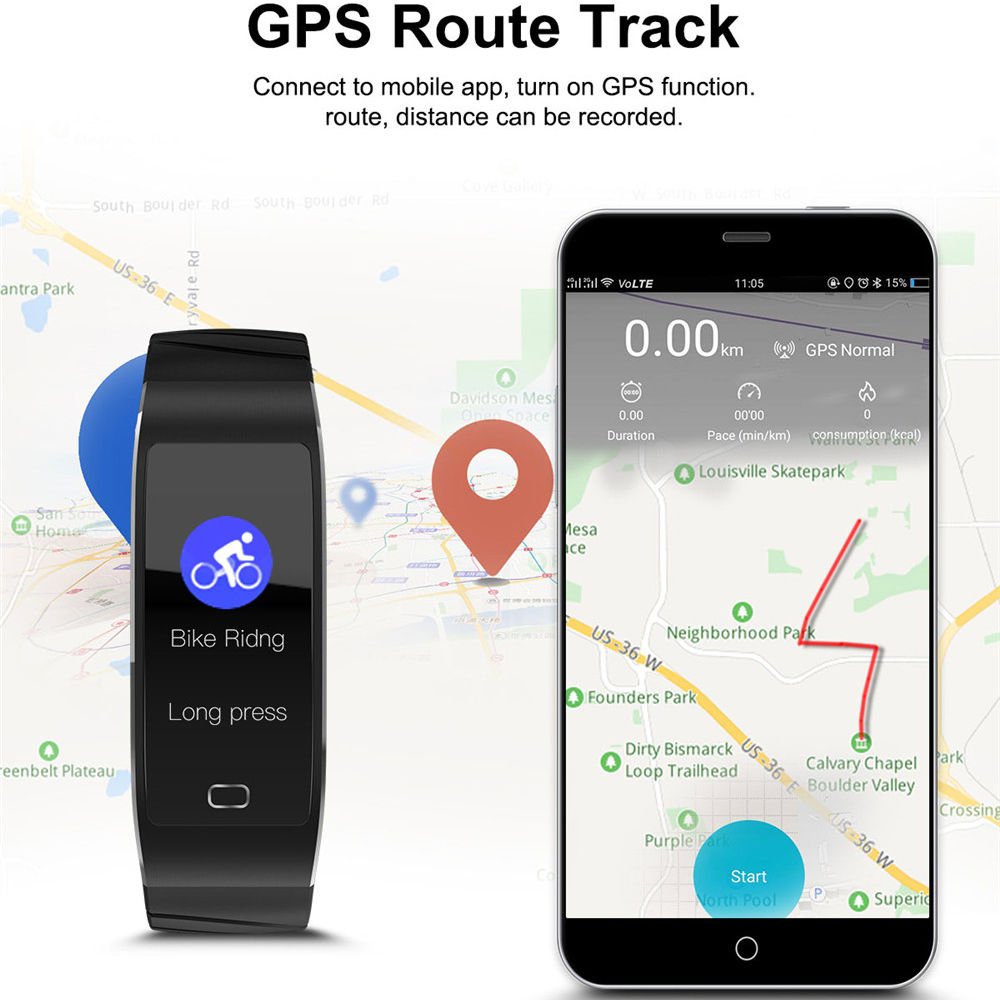 Smart Watch for Mens Women Sports GPS Positioning Smart Bluetooth Watches Intelligent Reminder Multi-function Sport WristwatchSmart Watch for Mens Women Sports GPS Positioning Smart Bluetooth Watches Intelligent Reminder Multi-function Sport Wristwatch