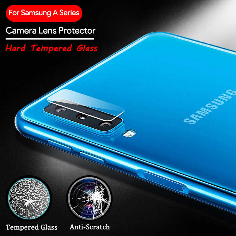 Hard Tempered Glass for Samsung Galaxy A9 2018 A6 A8 A7 Plus Phone Camera Lens Film for Samsung A10 A30 A50 A6S A8S A9S Len Film