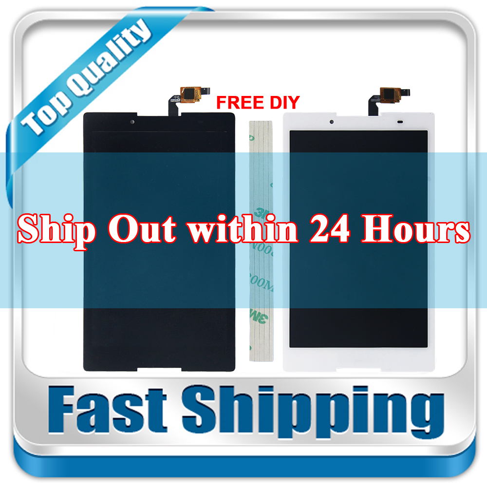 New For Lenovo Tab 2 A8-50 A8-50F A8-50LC Replacement LCD Display Touch Screen Assembly 8-inch Black White texted black touch screen digitizer lcd display assembly for lenovo tab s8 50 s8 50f s8 50l s8 50lc free shipping