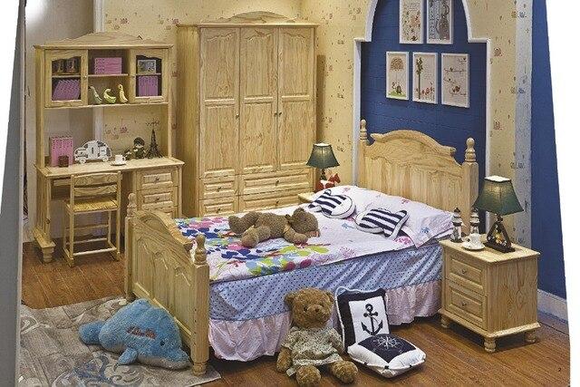 Nuevo diseño de estilo europeo de madera para niños de madera maciza ...