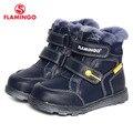 Flamingo 2016 nueva colección moda de invierno con lana de alta calidad antideslizante zapatos de los niños para niños w6xy312