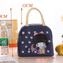 Insulation-Bag Packing Lunch-Box Large Waterproof Portable Girl 100pcs Series Thickening
