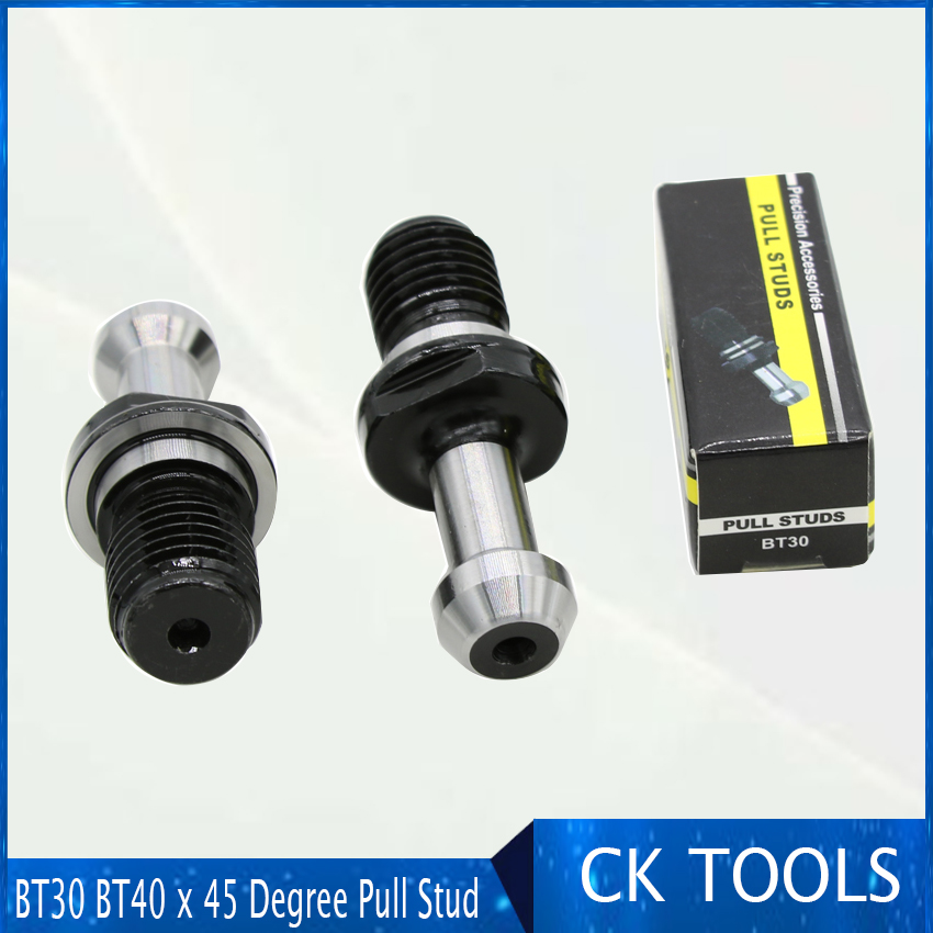 M12 BT30 x 45 Degree Pull Stud Retention Knob For CNC Milling Tool Holder New