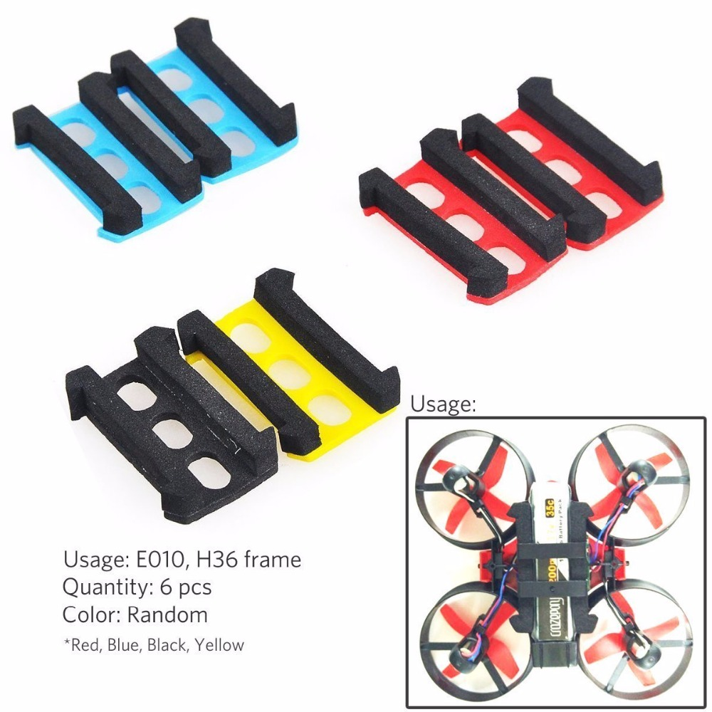 Foam Battery Compartment Adaptors for 1S 230mah 1s 260mah battery Eachine E010 Frame Tiny Whoop
