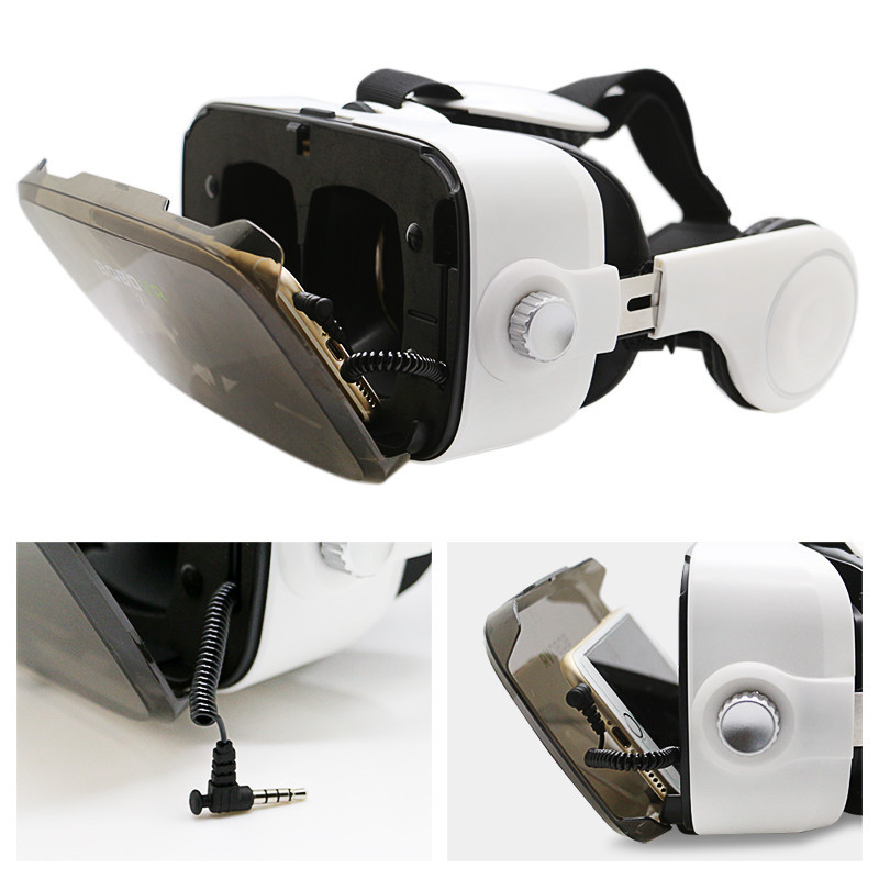 17Casque 3D VR réalité virtuelle