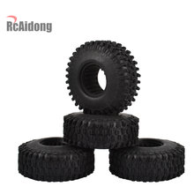 4PCS 120MM 1.9 Rubber Rocks Tyre/tires for 1/10 RC Crawler Axial Traxxas TRX4 TRX-4 SCX10 90046 RC4WD D90 D110 TF2(China)
