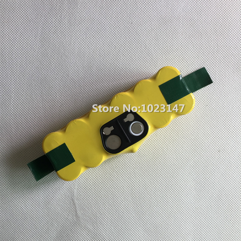 1 piece Robot Vacuum Cleaner Parts 14.4V 3500mAh NI-MH Battery Replacement for Irobot Roomba 780 610 570 560 550 500 xr510 battery for rechargeable vacuum cleaner brand new vacuum cleaner parts 14 4v 2200mah battery powered replacement