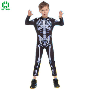 Image 5 - Halloween Horror Skeleton Cosplay Costume Masquerade Children Adult Men and Women Products Costumes fancy dress Play Party