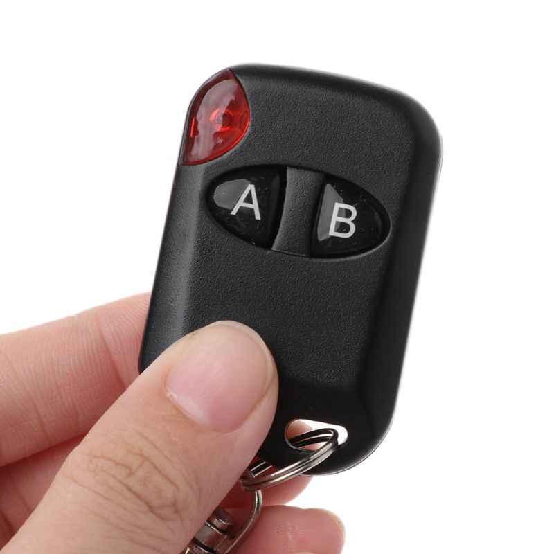 Fernbedienung 433MHz Wireless Duplizierer 4 Taste Metall Klon Controller Auto Kopie Elektrische Tore Gadgets Auto Schiebedächern Home Gar