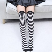 Striped Knee Socks / Stockings for Women