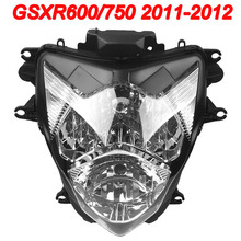 For 11-12 Suzuki GSXR600 GSXR750 GSXR GSX-R 600 750 Motorcycle Front Headlight Head Light Lamp Headlamp CLEAR 2011 2012 free shipping motorcycle front headlight front headlamps assembly for suzuki gsxr600 gsxr750 k4 04 05 year