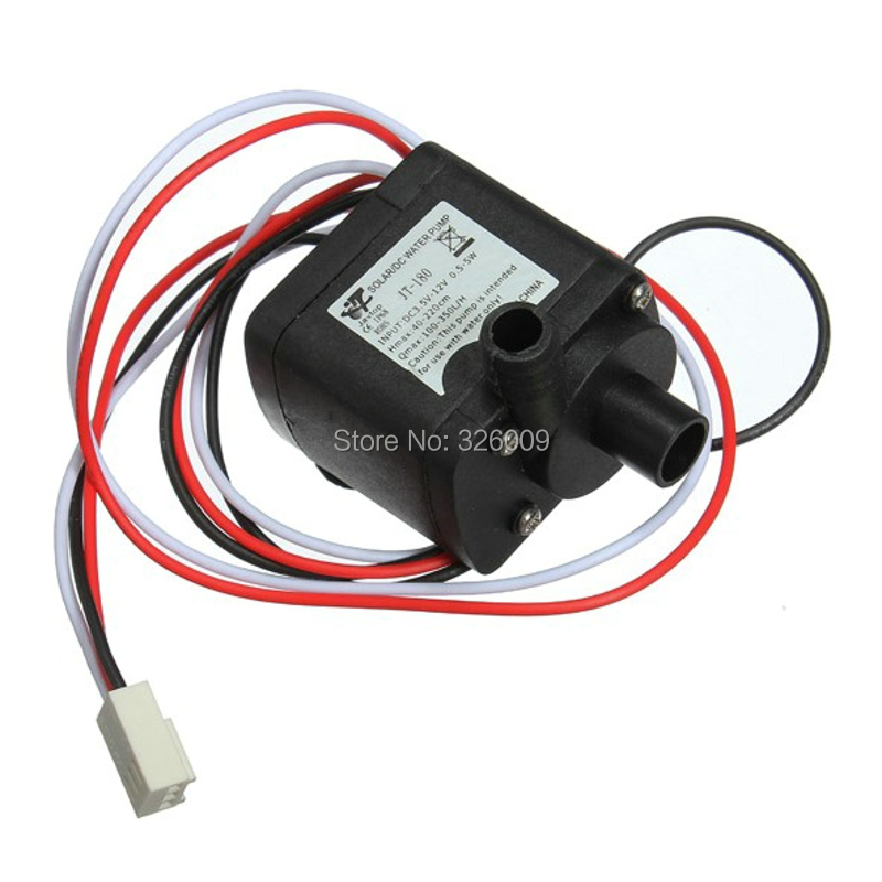 water pump 12V 0.42A Brushless DC Motor for Computer water cooling Sloar system art spring Equipment refrigerating 12v dc electric mini water circulation pump brushless motor submersible pump for hydroponics medical cooling 280l h car styling